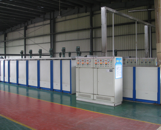 Electric glass decorating furnace WLD-RK