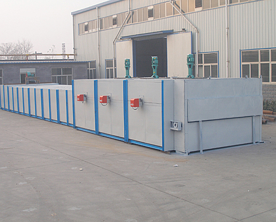 Natural gas/Coal gas Glass Annealing Furnace WLQ-RTS