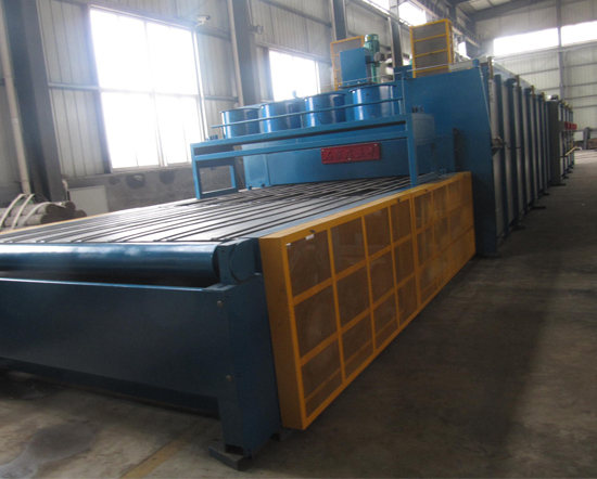 Natural/Coal gas Glass Annealing Furnace WLQ-RTS